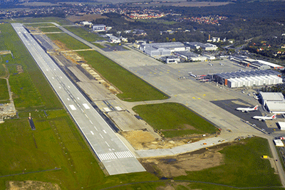 Dresden international airport