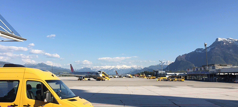 Salzburg international airport