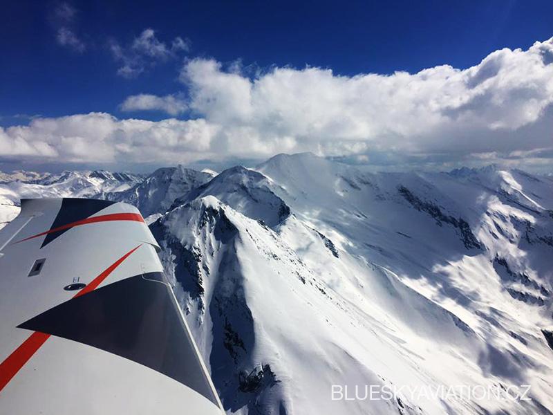 Alpy a Salzburg s Blue Sky Aviation