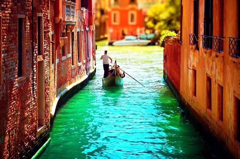Benátky romantika
