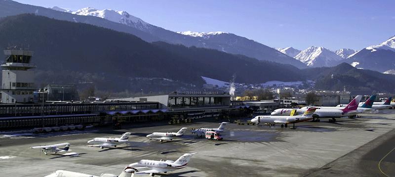 Innsbruck international airport