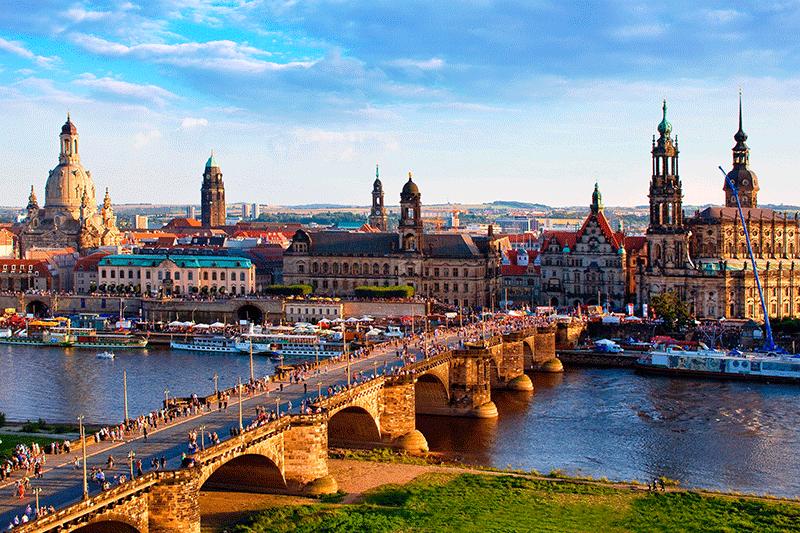 Dresden center