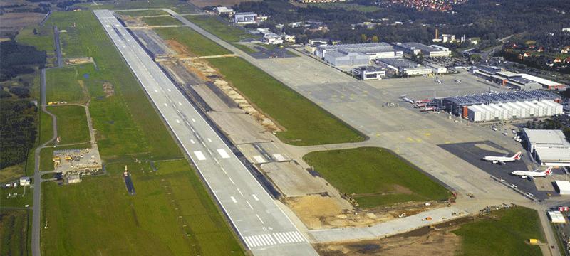 Dresden international airport