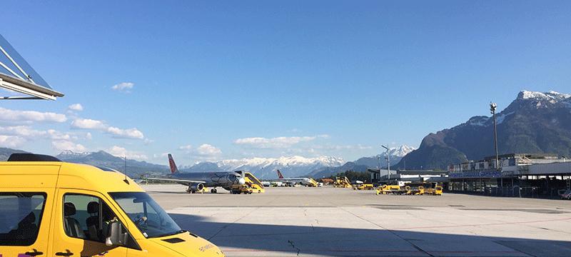 Salzburg international airport