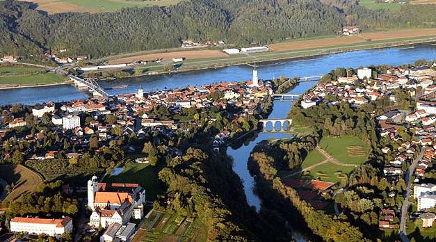 Přítok Dunaje - Vilshofen