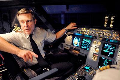 Pilot dopravního letadla - kapitán