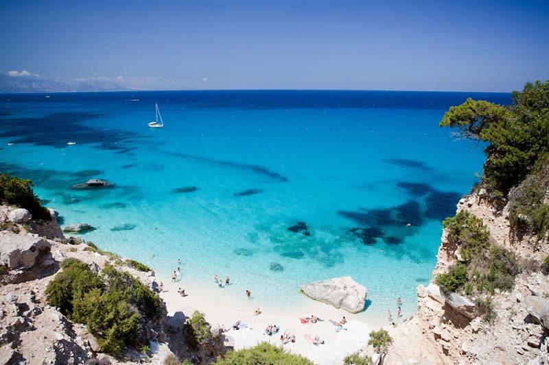 Sardinie beach