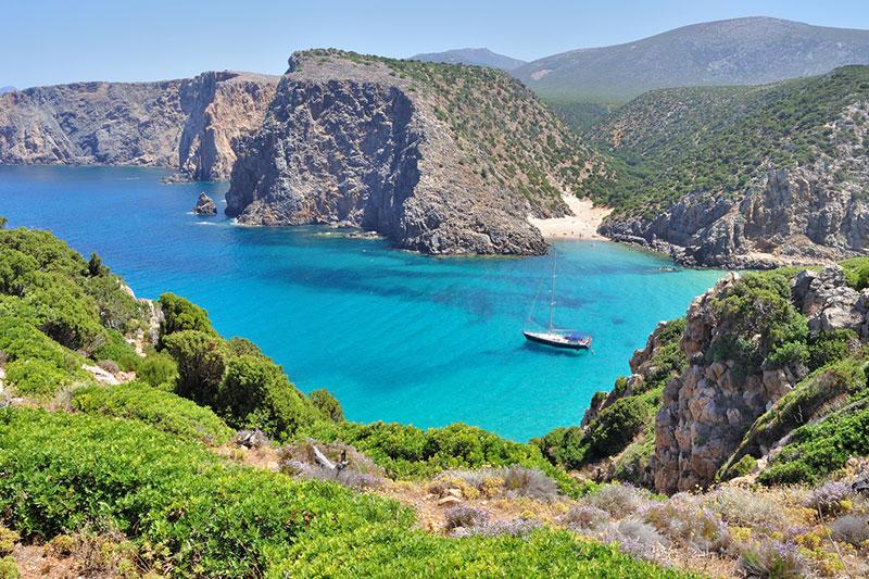 Sardinie island